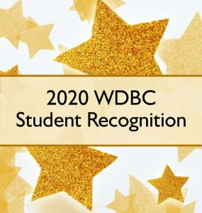 student recognition graphic
